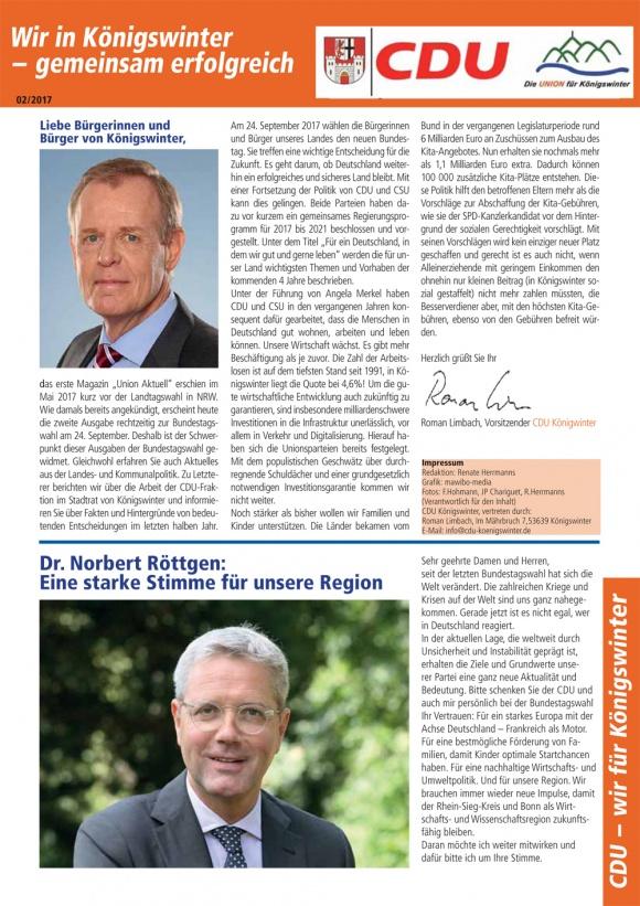CDU Zeitung 02/2017