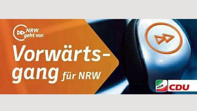 Vorwärtsgang für NRW