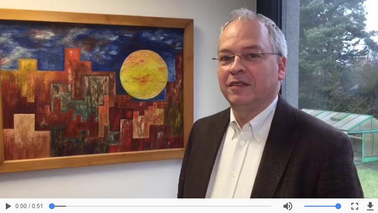 Norbert Mahlberg zu seiner Wahl als Vizebürgermeister