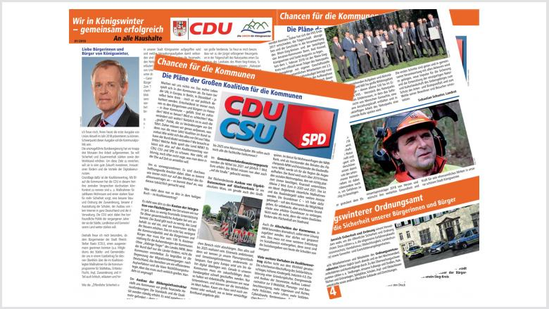 Die neue Zeitung der CDU Königswinter